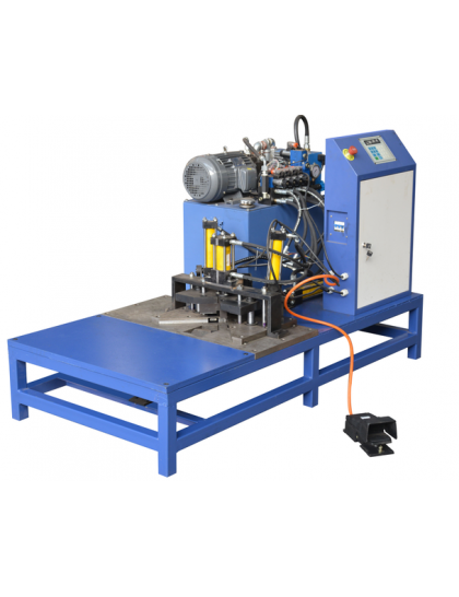 Automatic Hydraulic Corner Machine